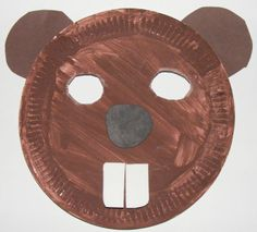Beaver Mask Craft