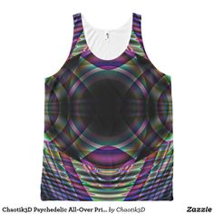 Chaotik3D Psychedelic All-Over Print Tanktop 00003