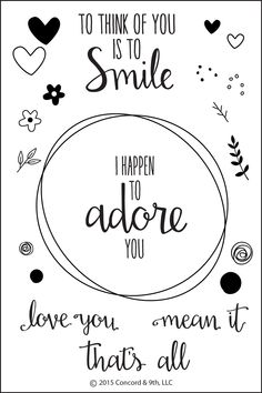 Love You. Mean It. - Concord & 9th
