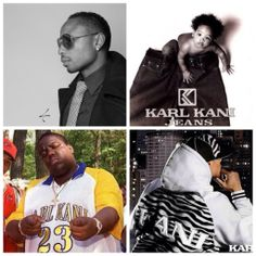 """Karl Kani was launched in 1989; the name """"Kani"""" is a play on words as Williams constantly asked himself can I do this?  The answer is yes as Karl Kani became known as the godfather of hip-hop fashion; in 1996 Carl Williams was listed as one of the 100 richest African-Americans #fashionableblackhistory"""