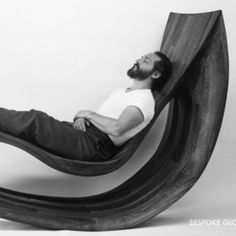 Michael Coffey: Sculptural Furniture from a Master! If money grew on trees I would buy this chair!!