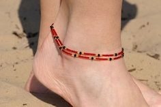 Items similar to Womens Ankle Bracelet Beachy Anklets Delicate Anklet Tiny anklet Women anklets Summer anklets gift for her girlfriend gift Summer gifts her on Etsy Beaded Bracelet Patterns, Beaded Bracelets, Beachy Anklets, Womens Ankle Bracelets, Ankle Jewelry, Ankle Chain, Anklet Bracelet, Bead Jewellery, Bohemian Jewelry