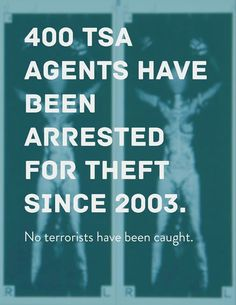 Lets disband the TSA. Much ado about nothing.