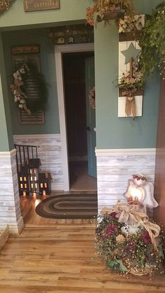 Home Remodeling Traditional 91 Cool Traditional Farmhouse Decor Ideas For Your Entire House Country Decor, Rustic Decor, Farmhouse Decor, Country Homes, Country Fall, Living Room Colors, Home Living Room, Casas Country, Primitive Homes