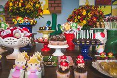 Decoração Festa Mario - Foto Graziele Novais