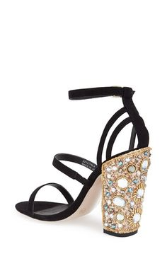Topshop 'Royalty' Jeweled Sandal (Women) | Nordstrom