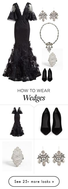 """""""His Dark Desire"""" by hellzbell on Polyvore featuring Marchesa, Alexander Wang, Lover, Stolen, Demon and thedevil"""