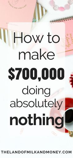 This is awesome – I can't believe how much money I can make from doing absolutely nothing! There's no wonder they say that this is how people get rich! I'm definitely going to focus on saving money so I can start doing this ASAP.
