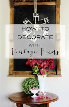 Decorating With Vint