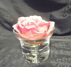 "BDSH 510; $29.95...Galaxy glass serving  four piece set. Approx.  3.5"" high x 4.5"" wide.  Great for flowers, floating candles, appetizers, specialty desserts."