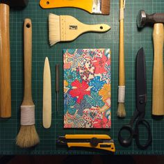 Papercut Bindery: Traditional Four Hole Japanese Binding