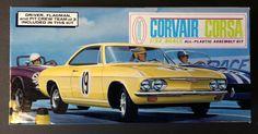 Aurora Corvair Monza coupe 1/32