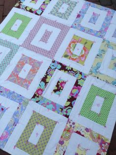 Baby Girl Crib Quilt by babyburritoquilts on Etsy, $125.00