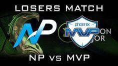 NP vs MVP Losers Match Boston Major 2016 Highlights Dota 2