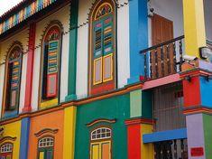 Красивый цветной дом