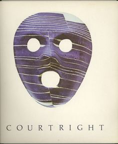 Robert Courtright Collage Masks 1976-1981 Art Exhibition Catalog