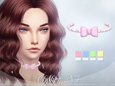 The Sims Resource: Choker N4 by KanoYa • Sims 4 Downloads