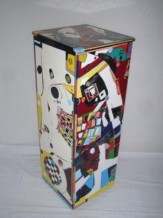 Kommode Einzelstück Hochglanzlack 140 x 42 x 44 cm Small Furniture, Vase, Canning, Textile Design, Sparkle, Dresser, Vases, Home Canning, Conservation