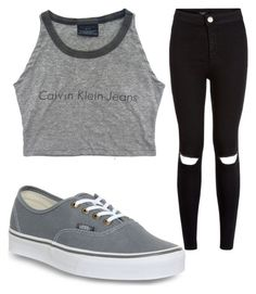 """""""Untitled #975"""" by pinkunicorn007 ❤ liked on Polyvore featuring мода и Vans"""