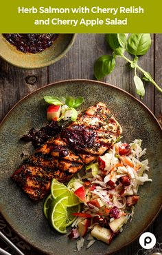 Refreshing. Beautiful. Delightful. With Publix Aprons, grilling time is now. Try this hearty salmon dish with a refreshing, original summer salad.