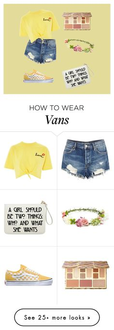 """thinkin bout you.. "" by live-life-lovingly on Polyvore featuring Free People, Topshop, Vans, Sephora Collection and Forever 21"