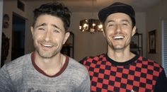 Matt Dallas and Blue Hamilton Share Their Adorable Coming Out Stories: WATCH