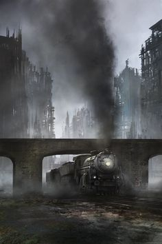 Apocalypse Train by jbrown67.deviantart.com on @DeviantArt