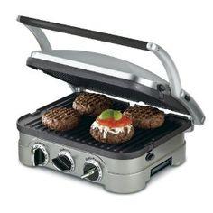 Amazing! Cuisinart GR-4N 5-in-1 Griddler $79.47