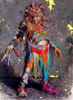 Jonas Burgert - More artists around the world in : http://www.maslindo.com #art #artists #maslindo