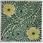 William De Morgan tile. Catleugh collection