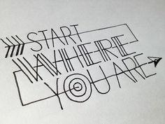 handwritten typography tutorials - Google Search