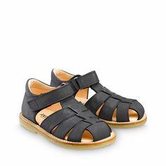ANGULUS SS14 Kids Sandals STYLE B5026 Grey-Blue Nubuck