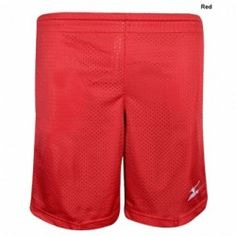 Mizuno Youth Mesh Shorts with Pockets Microfiber polyester Relaxed fit for comfort Elastic with drawstring waistband 2 side pockets Shorts With Pockets, Youth, Mesh, Fit, Sports, Red, Shape, Young Adults, Fishnet