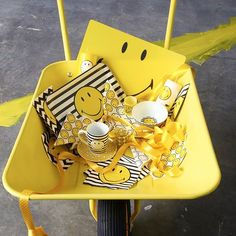 Planning a #Picnic this #weekend? #Butlers have got you covered with this range of #Smiley #products! #Yellow #Outdoors #Fun