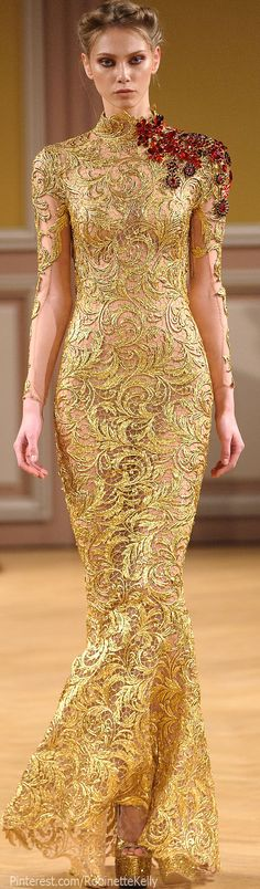 Tony Yaacoub Couture | F/W 2013 >> Cersei Lannister