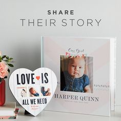Welcome your little one to the world with adorable DIY baby products. From photo books to mugs, that sweet face belongs on it all.
