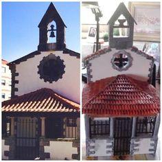 miniatura da Capela Nossa Senhora da Natividade-Mem Martins- Sintra-Portugal - a verdadeira e a minha ...  www.facebook.com/ideiasoltasminiaturas