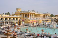 Budapest_Széchenyi_Baths. Never did get to try this when I was there!