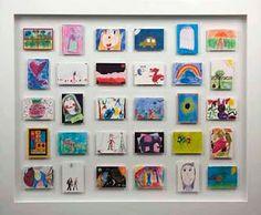 Ideas for keeping kids art