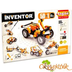 At last, award-winning Engino construction kits are available in the USA. The Engino Engineering kits are among the most advanced and multifaceted three-dimensional construction toys in the world today.