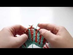 How To: brk2tog (brioche knit 2 together) - YouTube