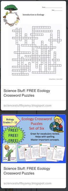 Ecology exercises high school