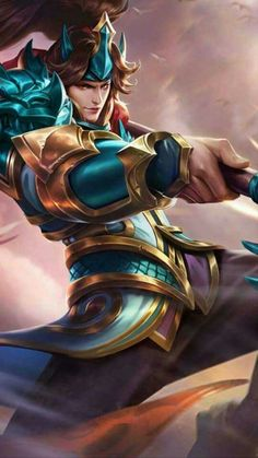 Zilong - Son of the Dragon (Rework) Epic Wallpaper, Mobile Legend Wallpaper, Hero Wallpaper, Hp Mobile, Mobile Game, Best Mobile, Mobiles, Bruno Mobile Legends, Hero Fighter
