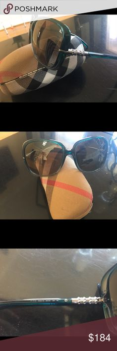 100% Authentic Burberry Sunglasses Burberry sunglasses b4114 blue shaded , square oversized, serial number is engraved. Package includes original box, authenticity card and cloth . 100% authentic guaranteed. Worn a few times , perfect condition for sell . Burberry Accessories Sunglasses