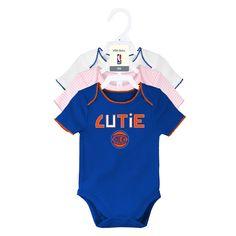 Knicks Baby Girl 3 Pack Short Sleeve Bodysuits – babyfans Baby   Toddler  Clothing fbc82d8b1