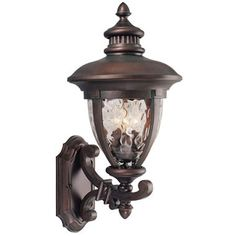 Tolland by Design House Patina Bronze Outdoor Uplight