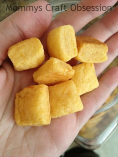 Thrifty Nifty Mommy: DIY-Homemade Cheese Crackers