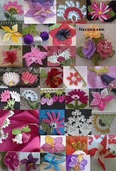 Ve Mekik Oyalari �rnekleri Modelleri I�ne Ile Mekik Oyas� Pictures Needle Tatting, Needle Lace, Tunisian Crochet, Irish Crochet, Ribbon Embroidery, Embroidery Patterns, Crochet Unique, Bruges Lace, Types Of Lace