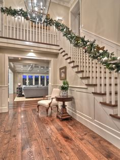 Spaces Wainscoting Stairs Design, Pictures, Remodel, Decor and Ideas - page 18