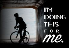 Indeed, do this for YOU! For yourself, because YOU will feel amazing! :D